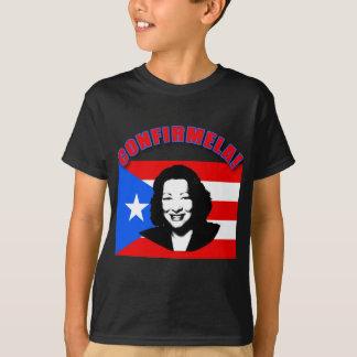 CONFIRMELA Con Bandera de Puerto Rico T-Shirt