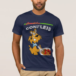 Confleis Distressed-Look T-Shirt
