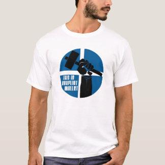 Conflict Mallet Logo T-Shirt