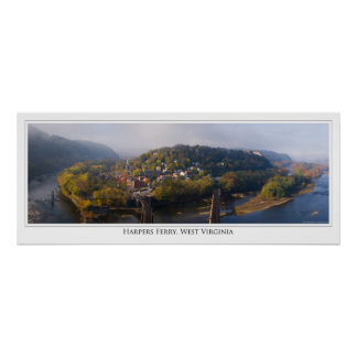 Confluence at Harpers Ferry Poster