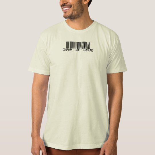 Conform Obey Consume Barcode T-Shirt