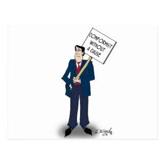 Conformist Cartoon 9367 Postcard