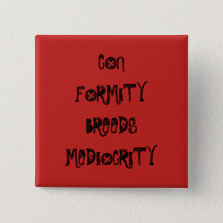 Conformity 2 Inch Square Button