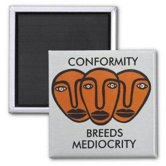 Conformity 2 square magnet