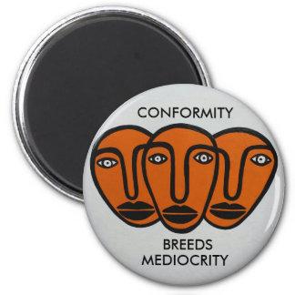Conformity 2 2 inch round magnet