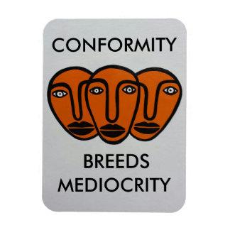 Conformity 2 rectangular photo magnet