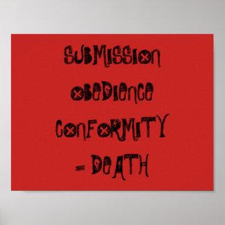Conformity 4 poster