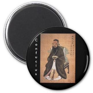 Confucius 1 2 inch round magnet