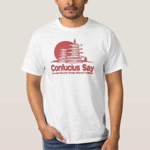 Confucius disent tee-shirt