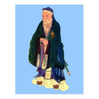 Confucius Postcard
