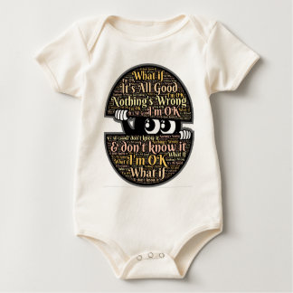 Confused Baby Bodysuit