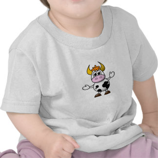 Confused Cow Baby Top T-shirt