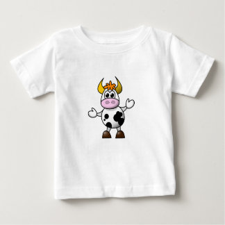 Confused Cow Baby Top T Shirts