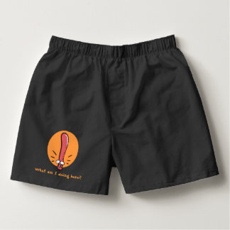 confused earthworms funny cartoon boxers