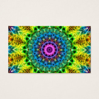 confused harmony kaleidoscope business card