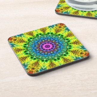 confused harmony kaleidoscope coaster