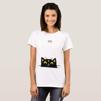 Confused Kitty T-Shirt