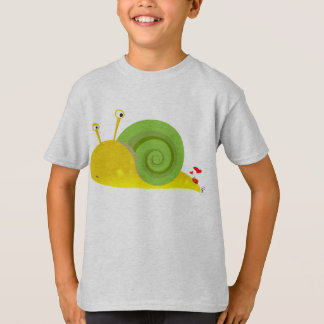 Confused Snail Kids T-Shirt