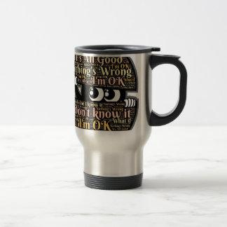 Confused Travel Mug
