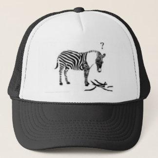 Confused Zebra Trucker Hat