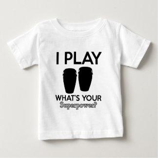 conga design baby T-Shirt