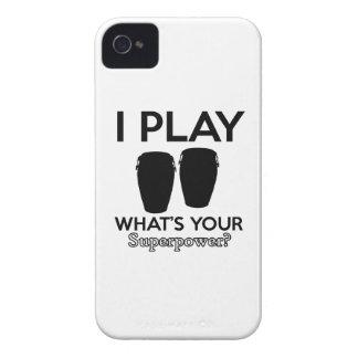 conga design iPhone 4 covers
