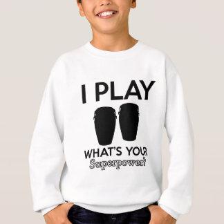 conga design sweatshirt