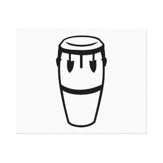 Conga drum canvas prints