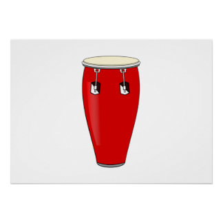 Conga Drum Posters