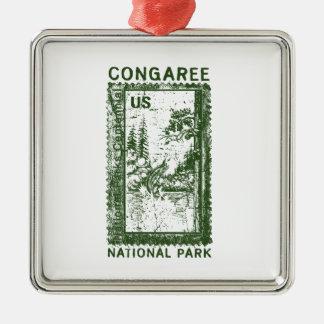 Congaree National Park Metal Ornament