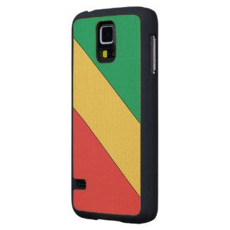 Congo 2 Flag Maple Galaxy S5 Slim Case