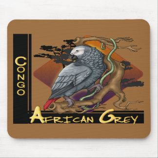 Congo African Grey Mousepad