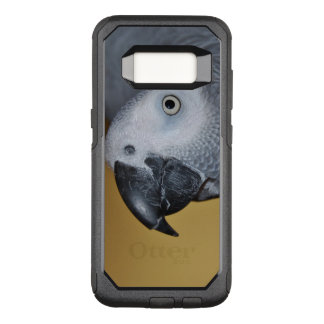 Congo African Grey Parrot Hello OtterBox Commuter Samsung Galaxy S8 Case