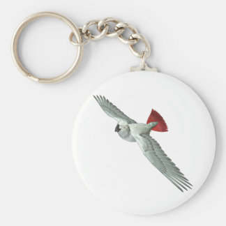 Congo African Grey Parrot Keychain