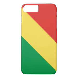 Congo-Brazzaville Flag iPhone 8 Plus/7 Plus Case