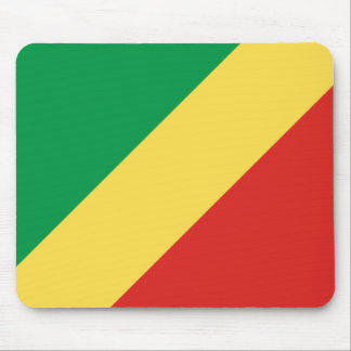Congo-Brazzaville Flag Mouse Pad