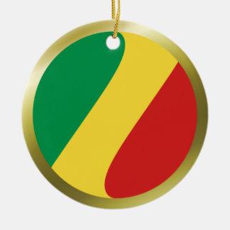 Congo-Brazzaville Flag Ornament
