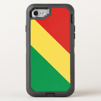 Congo-Brazzaville Flag OtterBox Defender iPhone 8/7 Case