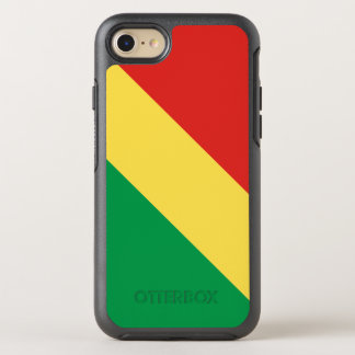 Congo-Brazzaville Flag OtterBox Symmetry iPhone 8/7 Case