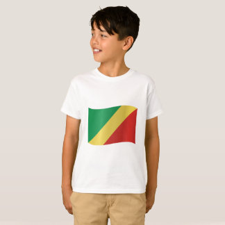 Congo-Brazzaville Flag T-Shirt