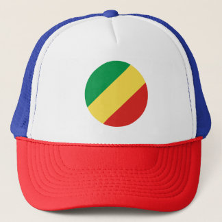 Congo-Brazzaville Flag Trucker Hat