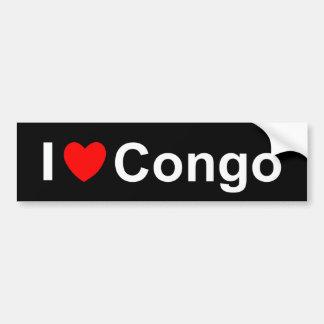 Congo Bumper Sticker