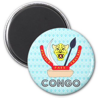 Congo Coat of Arms Magnet