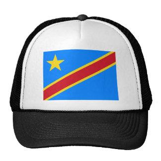 congo democratic mesh hat