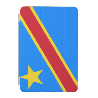 Congo-Kinshasa Flag iPad Mini Cover