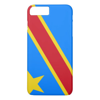Congo-Kinshasa Flag iPhone 8 Plus/7 Plus Case