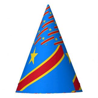 Congo-Kinshasa Flag Party Hat