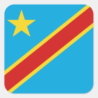 Congo-Kinshasa Flag Sticker