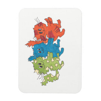 Congo Line Kitty Magnet