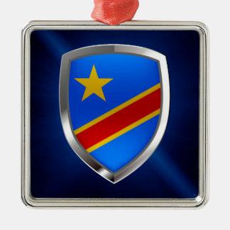 Congo Mettalic Emblem Metal Ornament